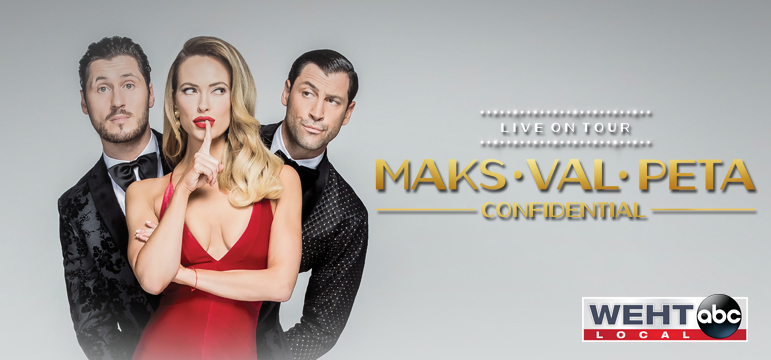 Maks Val Pete Live on Tour: Confidential