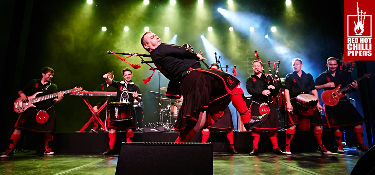 Red Hot Chilli Pipers Live August 30