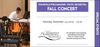 EVANSVILLE PHILHARMONIC YOUTH ORCHESTRAS FALL CONCERT